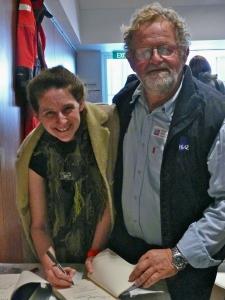 David Pescud and Helen O'Neill