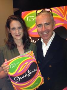 Designer Andrew Henderson and author Helen O'Neill