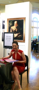Helen O'Neill at DJs signing