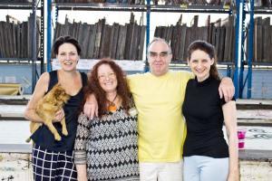 Helen Lennie, Paulene Graham, David Lennie & Helen O'Neill