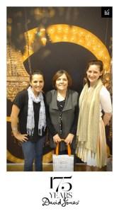 Naomi Scezny, Anne Sassoon & Helen O'Neill at DJs High Tea June 16, 2013
